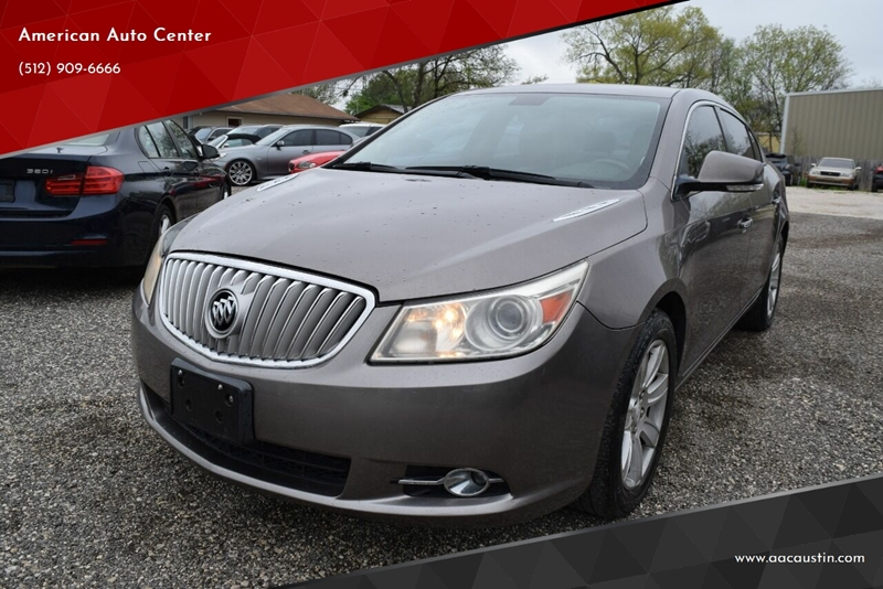 2010 Buick LaCrosse for sale at American Auto Center in Austin TX