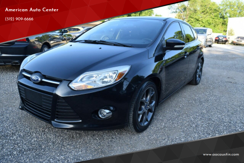 2014 Ford Focus for sale at American Auto Center in Austin TX
