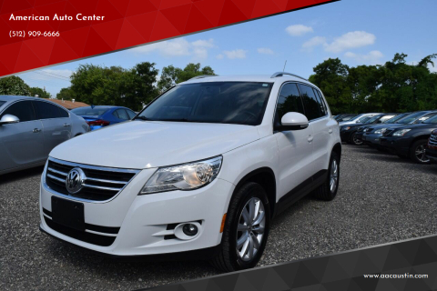 2011 Volkswagen Tiguan for sale at American Auto Center in Austin TX