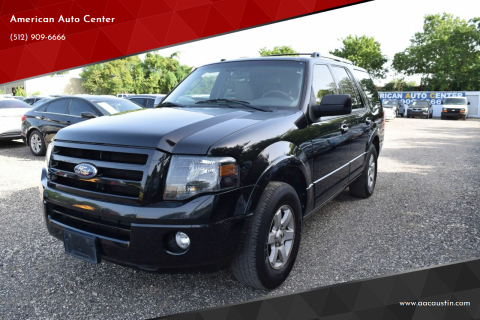 2010 Ford Expedition for sale at American Auto Center in Austin TX