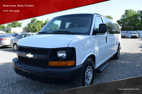 2017 Chevrolet Express Passenger for sale at American Auto Center in Austin TX