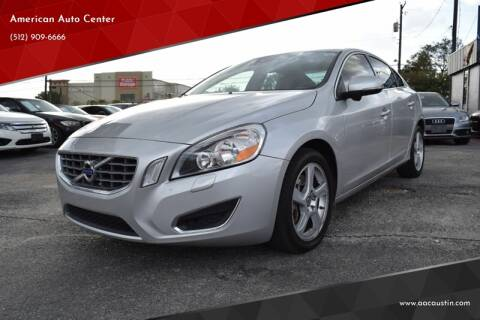 2012 Volvo S60 for sale at American Auto Center in Austin TX