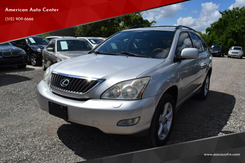 2008 Lexus RX 350 for sale at American Auto Center in Austin TX