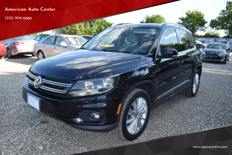 2014 Volkswagen Tiguan for sale at American Auto Center in Austin TX