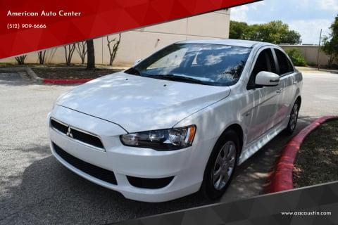 2015 Mitsubishi Lancer for sale at American Auto Center in Austin TX