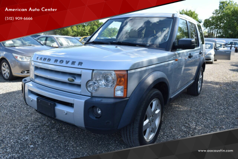 2006 Land Rover LR3 for sale at American Auto Center in Austin TX