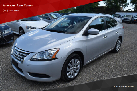 2015 Nissan Sentra for sale at American Auto Center in Austin TX