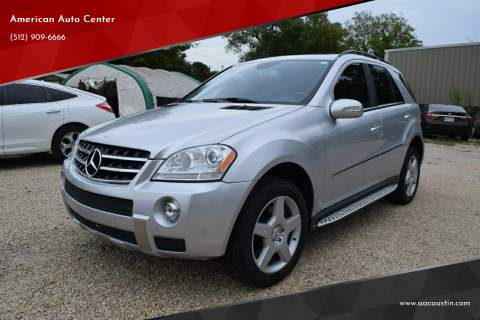 2008 Mercedes-Benz M-Class for sale at American Auto Center in Austin TX
