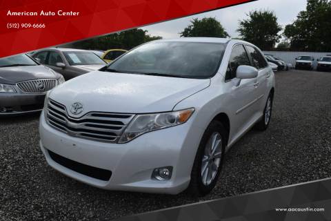 2011 Toyota Venza for sale at American Auto Center in Austin TX