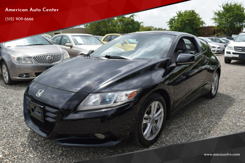 2011 Honda CR-Z for sale at American Auto Center in Austin TX