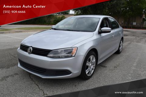2014 Volkswagen Jetta for sale at American Auto Center in Austin TX