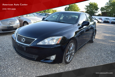 2008 Lexus IS 350 for sale at American Auto Center in Austin TX