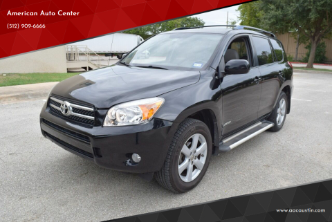 2007 Toyota RAV4 for sale at American Auto Center in Austin TX