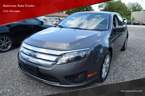2012 Ford Fusion for sale at American Auto Center in Austin TX