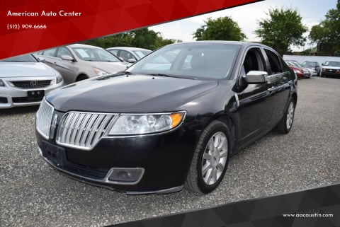 2011 Lincoln MKZ for sale at American Auto Center in Austin TX