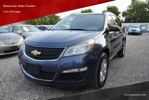 2013 Chevrolet Traverse for sale at American Auto Center in Austin TX