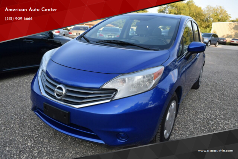 2015 Nissan Versa Note for sale at American Auto Center in Austin TX