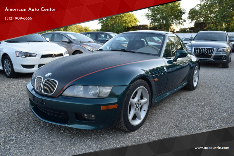 1999 BMW Z3 for sale at American Auto Center in Austin TX
