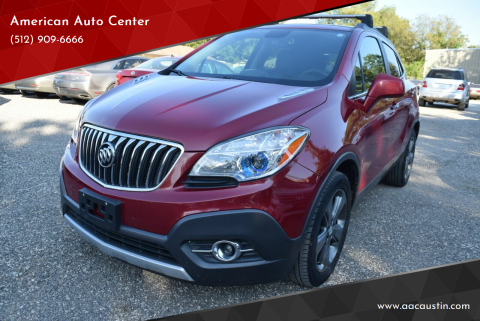 2013 Buick Encore for sale at American Auto Center in Austin TX