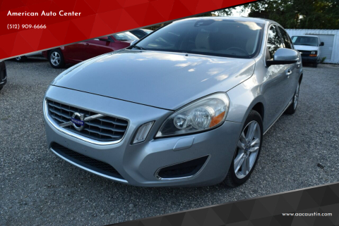 2013 Volvo S60 for sale at American Auto Center in Austin TX