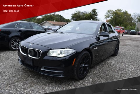 2014 BMW 5 Series for sale at American Auto Center in Austin TX
