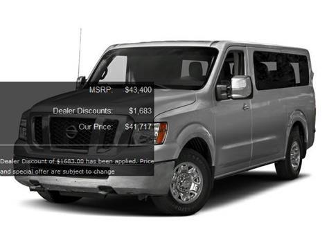 Nissan Nv Passenger For Sale In Boise Id Carsforsale Com