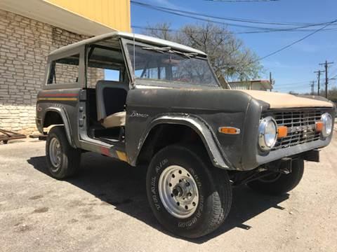 1966 Ford Bronco for sale at Mafia Motors in Boerne TX