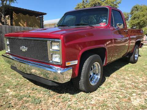 1984 Chevrolet C/K 10 Series for sale at Mafia Motors in Boerne TX