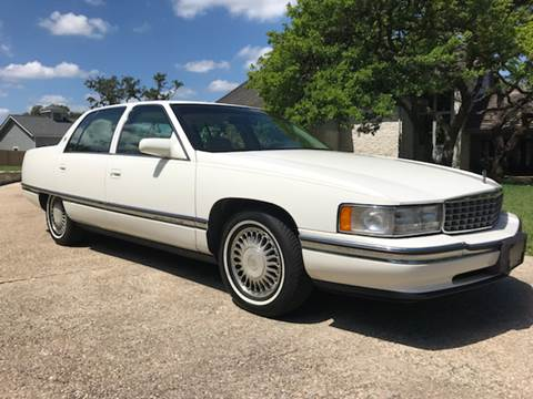 1995 Cadillac DeVille for sale at Mafia Motors in Boerne TX