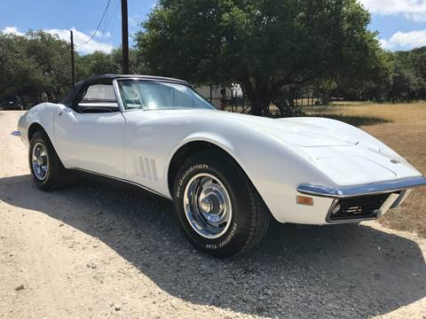 1968 Chevrolet Corvette for sale at Mafia Motors in Boerne TX