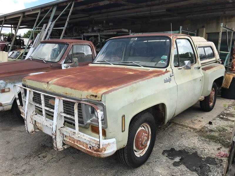 1974 Chevrolet C/K 10 Series for sale at Mafia Motors in Boerne TX