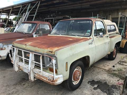 1974 Chevrolet C/K 10 Series for sale at Mafia Motors in Boerne TX
