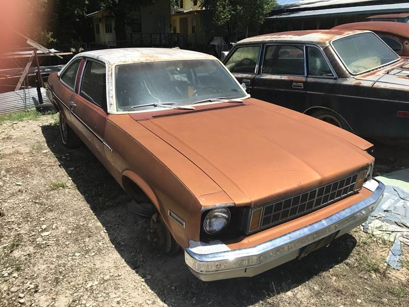 1975 Chevrolet Nova for sale at Mafia Motors in Boerne TX