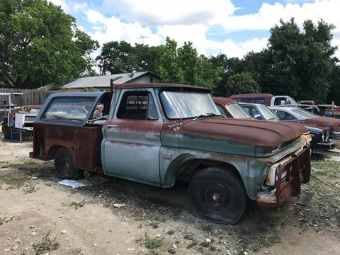 1966 Chevrolet C/K 10 Series for sale at Mafia Motors in Boerne TX