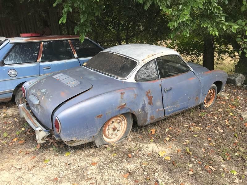 1965 Volkswagen Karmann Ghia for sale at Mafia Motors in Boerne TX