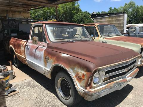 1968 Chevrolet C/K 10 Series for sale at Mafia Motors in Boerne TX