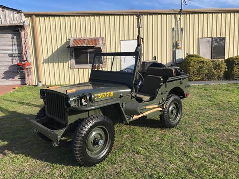 Used 1942 Willys Jeep For Sale Carsforsale Com