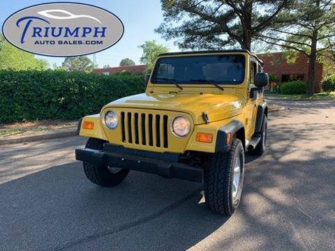 2006 Jeep Wrangler for sale in Memphis, TN