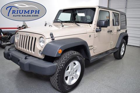 2016 Jeep Wrangler Unlimited for sale in Memphis, TN