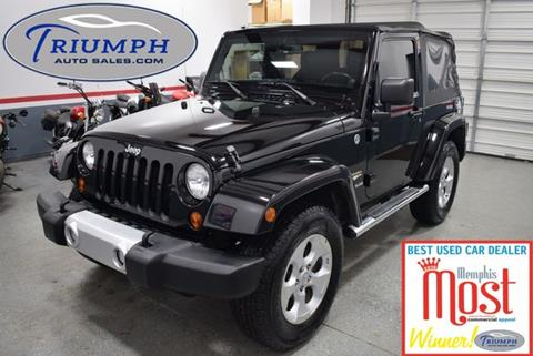 2013 Jeep Wrangler for sale in Memphis, TN