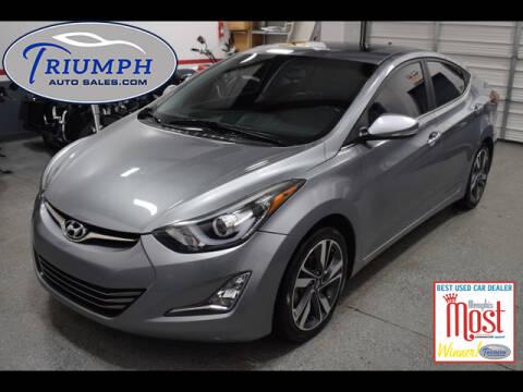 2014 Hyundai Elantra for sale at Triumph Auto Sales in Memphis TN