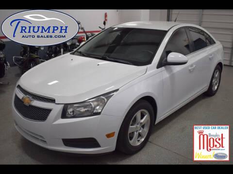 2013 Chevrolet Cruze 1LT Auto for sale at Triumph Auto Sales in Memphis TN