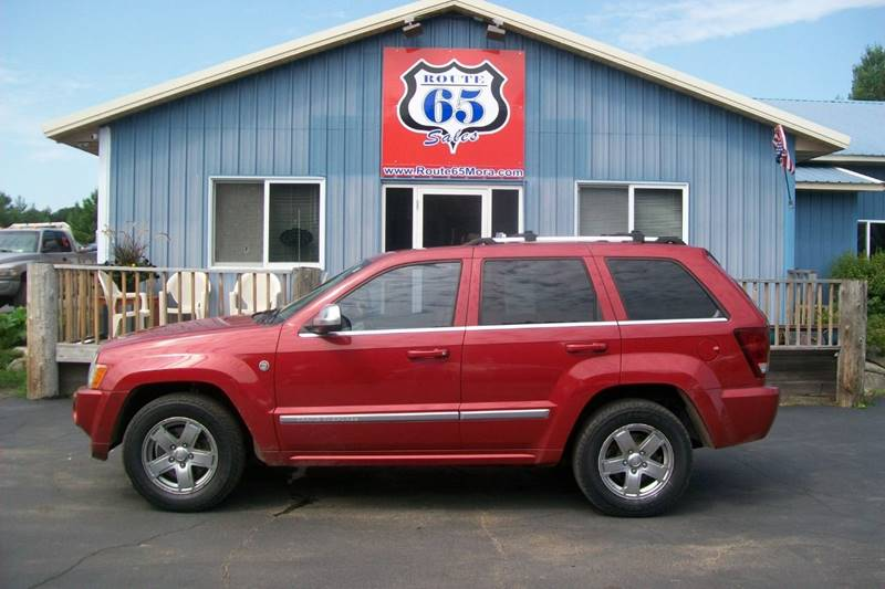 2006 Jeep Grand Cherokee For Sale At Route 65 Sales In Mora MN