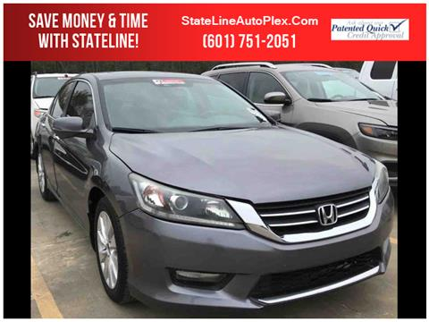 2014 Honda Accord for sale in Woodville, MS