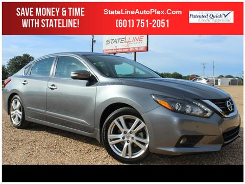 2017 Nissan Altima for sale in Woodville, MS