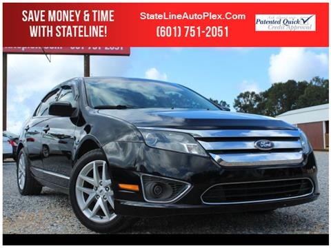 2012 Ford Fusion for sale in Woodville, MS