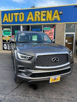 2019 Infiniti QX80 for sale at Auto Arena in Fairfield OH