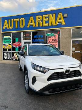 2019 Toyota RAV4 for sale at Auto Arena in Fairfield OH