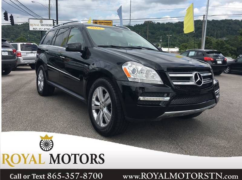 2012 Mercedes Benz GL Class For Sale At Royal Motors In Knoxville TN
