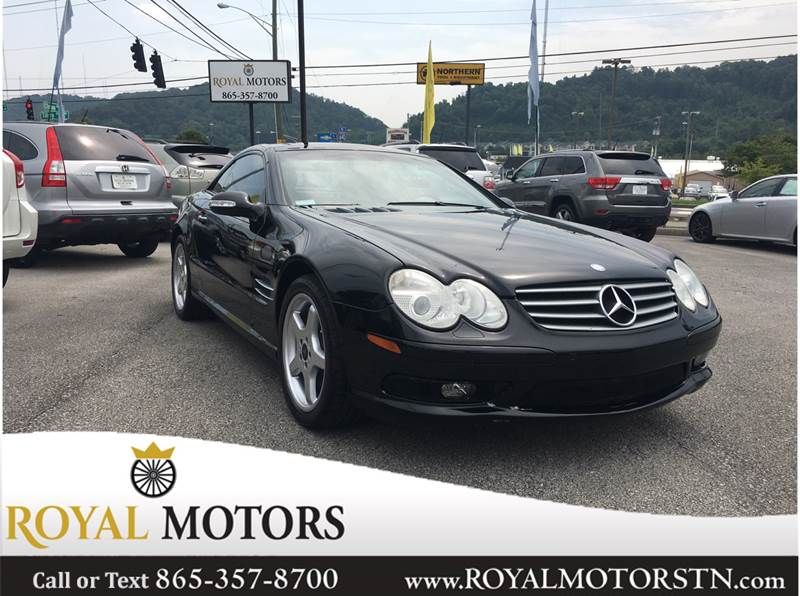 2003 Mercedes Benz SL Class For Sale At Royal Motors In Knoxville TN